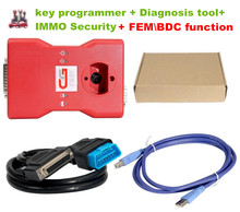 CGDI Prog Auto key programmer for BMW Support key programmer + Diagnosis tool+ IMMO Security  + FEM\BDC functions  4-in-1