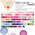 #50618 141Colors/set Nail Art Paint Gel CANNI Factory Pure Color DIY Decoration Painting LED&UV Gel