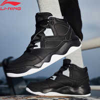 Li-Ning Männer RETRO 90 Basketball Kultur Schuhe Wearable Anti-Rutschig Medium Geschnitten Futter Sport Schuhe Turnschuhe AGBN049 XYL208