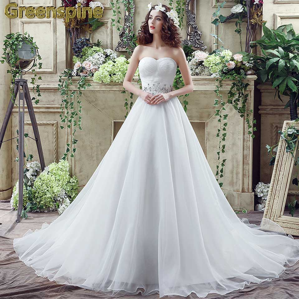 8a9c4ec19e Buy tube top wedding dress and get free shipping on AliExpress.com