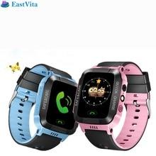 EastVita Y21 GPS Smart Watch Bracelet GPS Anti-Lost  Tracker SOS Call Location Finder For Kids Children