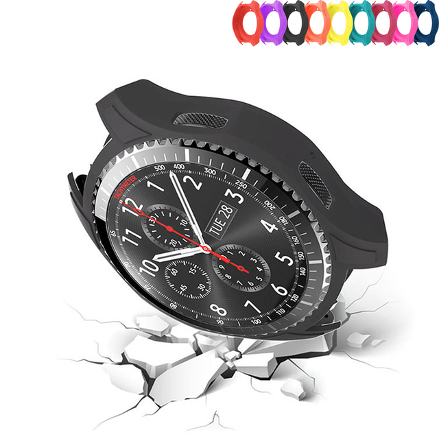 Silicone Watch Case for Samsung Gear S3 Frontier Cover Galaxy watch 46mm case sm