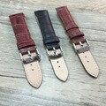 14mm16mm18mm20mm22mm24mm negro marrón cuero genuino correa de reloj, hombres y mujeres correa, para lotes de marca de lujo