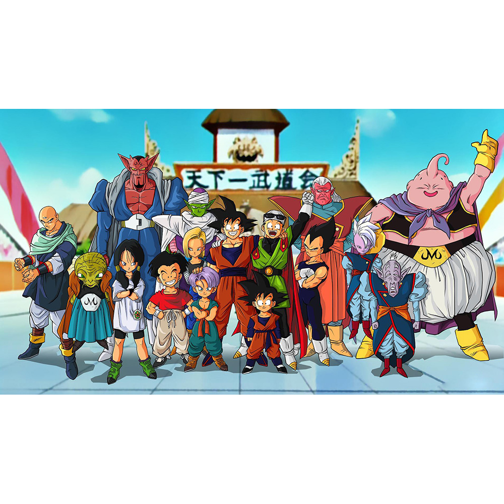 ( Dragon Ball Z The Fall of Man Playmat) Limited Edition 35X60CM Custom Playmat Cards Game Animation Playmat