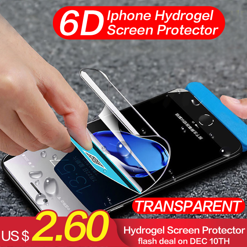 Cjy Hydrogel Silicone Display Protector For Iphone X Xs Max Entrance And Again Delicate Display Protector For Iphone 6 Iphone 7 eight Plus