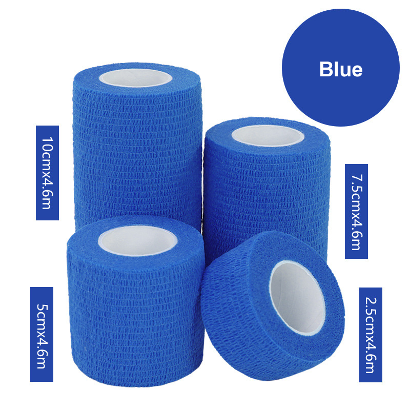 1Pcs Waterproof Medical Therapy Self Adhesive Bandage Muscle Tape Finger Joints Wrap First Aid Kit Pet Elastic Bandage 2.5-15cm