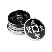 5 Pcs/Lot Chinese Coin Magic Tricks close up Stage Magic mental coin Props Accessories Gimmick