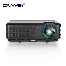 CAIWEI Digital Projector LCD LED Proyector Beamer Home Theatre Support Full HD 1080P Video USB TV Smartphone Laptop 4200 Lumens