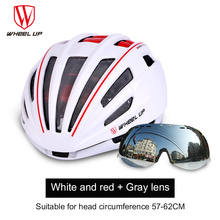 WHEEL UP Aerodynamic EPS Lens Cycling Helmet Ultra-Light Mountain Bike Helmet MTB Bicycle Helmet Bike Accessories