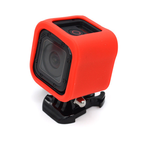 For GoPro 4 Session Accessories Protective Case Soft Rubber Silicone Silica Shell Protector Housing for Go Pro Hero 4/5 Session ...