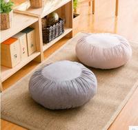 Ispessito futon cuscino rotondo cuscino tatami cuscino di Meditazione yoga mat floating finestra pad sfoderabile e lavabile