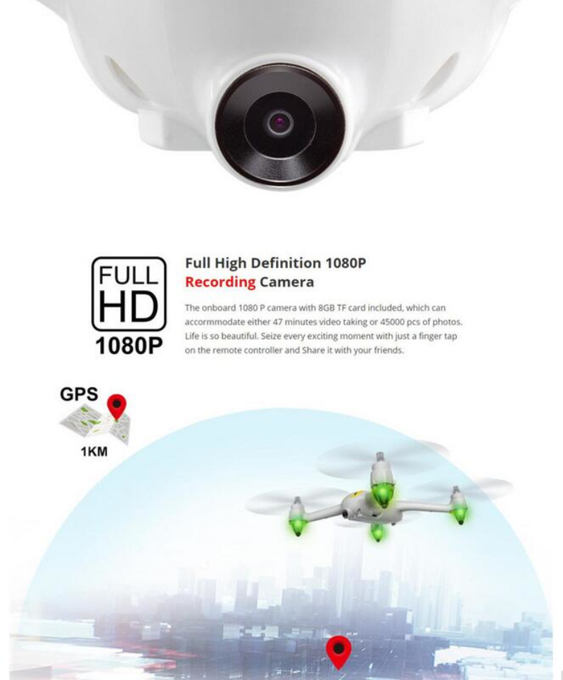 GPS Drone MJX Bugs 2 GPS Brushless motor 2.4G 6-Axis Gyro RC Drones With 1080P HD Camera FPV RC Quadcopter headless mode rc toys