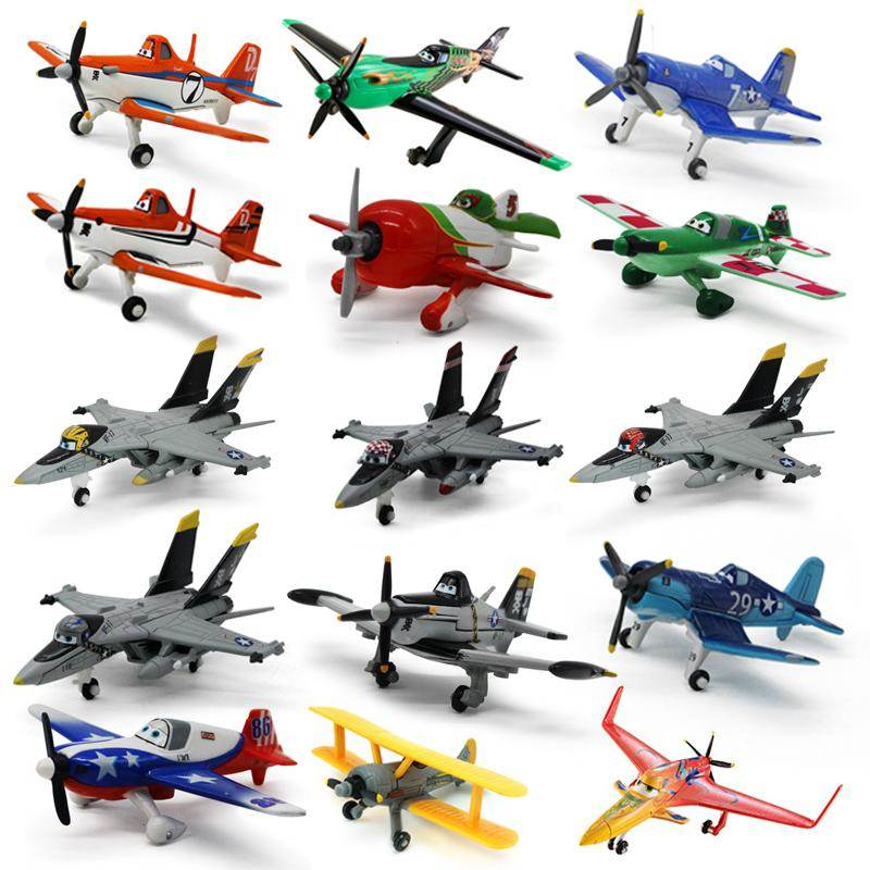 Disney Pixar Planes Rare 1&2 Diecast Metal Toy Model Plane 1:55 Loose Kids Boys Gift