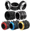 Metal Mount Auto Focus AF Macro Extension Tube Ring For Canon EOS EF S Lens 760D