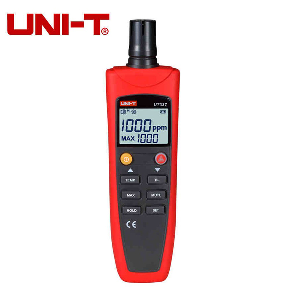 UNI-T UT337A High Accuracy CO Detector Meter Tester Carbon Monoxide Monitor Home Gas Alarm Analyzer Household