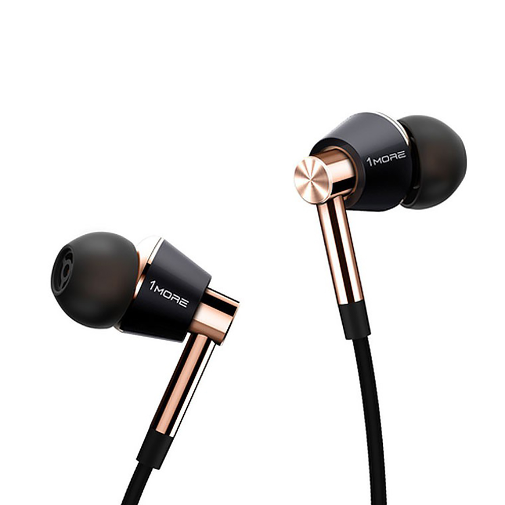 Original 1More Triple Driver In-Ear Earphone with microphone for Xiaomi Mi Redmi Samsung Mp3 Earphones Earbuds Earpiece E1001