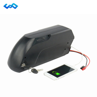 Free Tax Tigershark 48V 17Ah Electric Bicycle Lithium Battery LG 3400mah Cell Bafang BBS02 48V 750W
