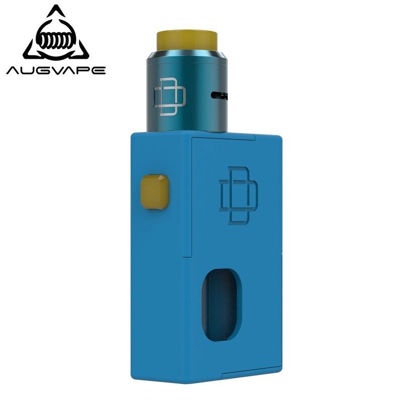 Augvape Elektronische Zigarette Squonker Box Mod Kit mit Druga 22mm RDA Zerstäuber vaper electronico elektronische verdampfer