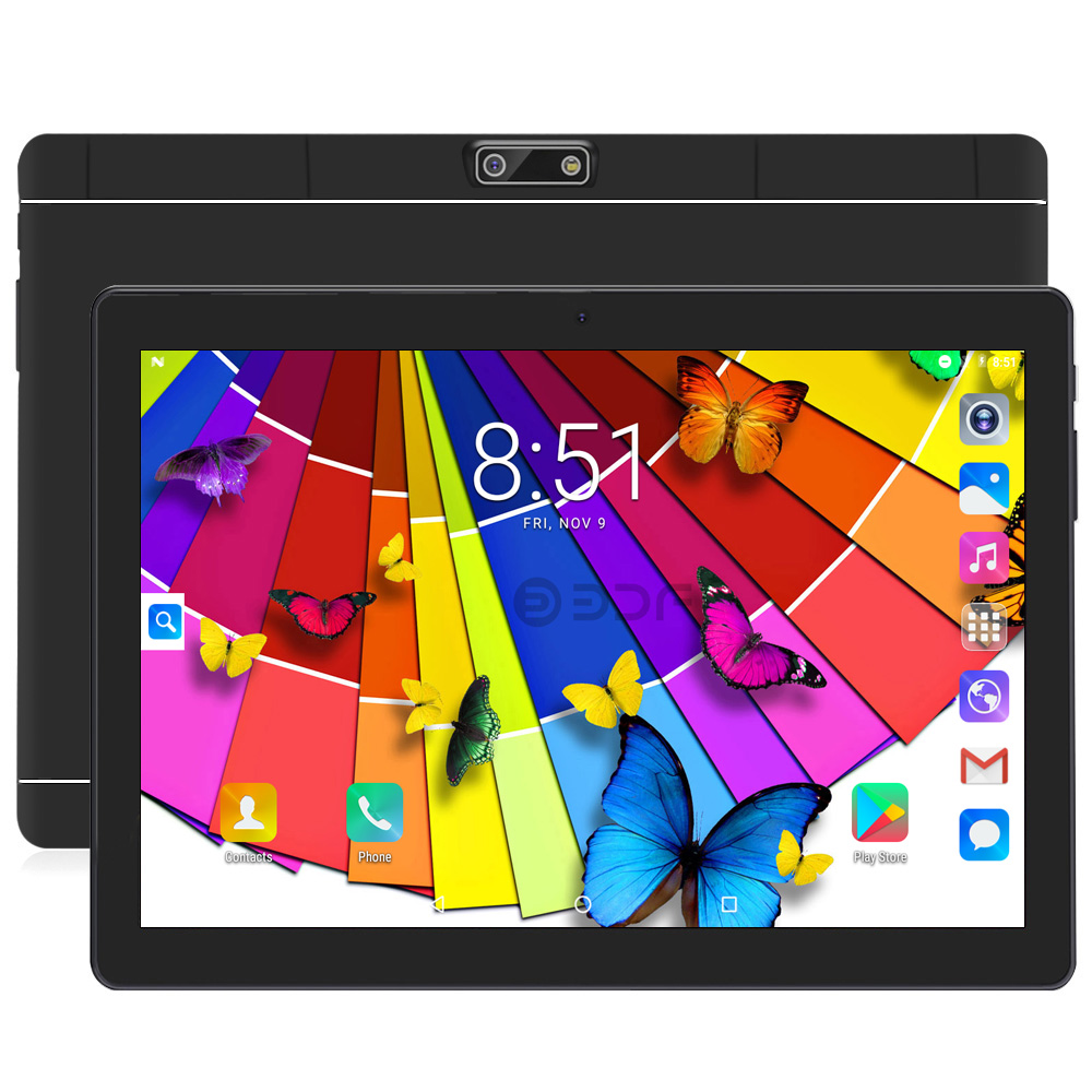 2019 New YLD60 Android 6.0 Tablet 10 Inch Tablet Pc MTK6580 Quad Core 4GB/32GB Tablets Dual SIM Card Tablets 2MP+5MP Camera