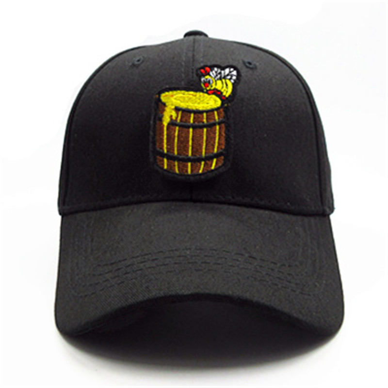 Men's Hats 2019 Bee Honey Embroidery Cotton Baseball Cap Hip-hop Cap Adjustable Snapback Hats For Men And Women 329 Men's Baseball Caps