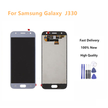 LCD For Samsung Galaxy J3 2017 J330 J330F Phone LCD Display Touch Screen Digitizer Assembly With Brightness Control+Tools can adjust brightness j330 lcd for samsung j3 2017 j330 j330f lcd digitizer touch screen assembly