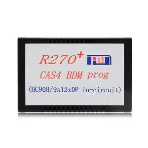 Image 2 - Original R270+ V1.20 Auto CAS4 BDM Programmer R270 CAS4 BDM Programmer Professional for bmw key prog free shipping