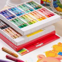 48 kolory olej pastele dzieci kolorowanie uczeń Graffiti długopis do malowania biuro szkolne dziecko dziecko miękka kredka tanie tanio Pastelowe oleju Zestaw 12 24 36 48color