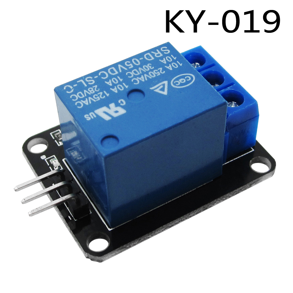 1pcs 1 Channel 5V Relay Module 1-Channel realy KY-019 KY019