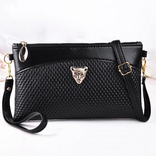 Fashion Women Handbags Messenger Envelope Cross Body Shoulder Bags Patent PU Leather Zipper Mobile Phone Money Keys Totes Bag