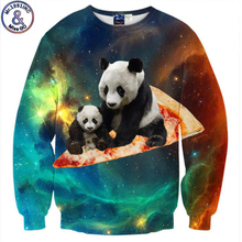 Mr.1991 adolescente mode chine Panda 3D hoodies garçons adolescents Printemps Automne minces shirts pour filles grands enfants sweats W42
