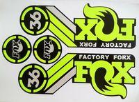 Наклейки/наклейки для горного велосипеда/bycle Racing Велоспорт для передней вилки MTB FOX 36