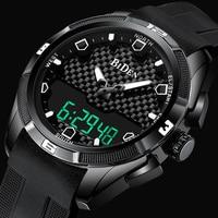 Men Military Watch Waterproof Wristwatch LED Quartz Clock Fashion Sport Watch Male relogio masculino S Shock Watch Men 2019 New