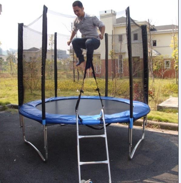 Household belt fence big trampoline outdoor adult 10 inch