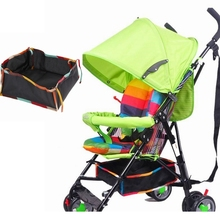 Baby Stroller Accessories Diaper Bag yoyo Storage Basket Umbrella Bottom Pram Cart Hook Backpack  Bags