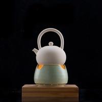 Vintage Style Tea Stove Ceramic Coarse Pottery Shelf Teapot Holder Kung Fu Tea Set Accessories Candles Heating Coffee Sake Base