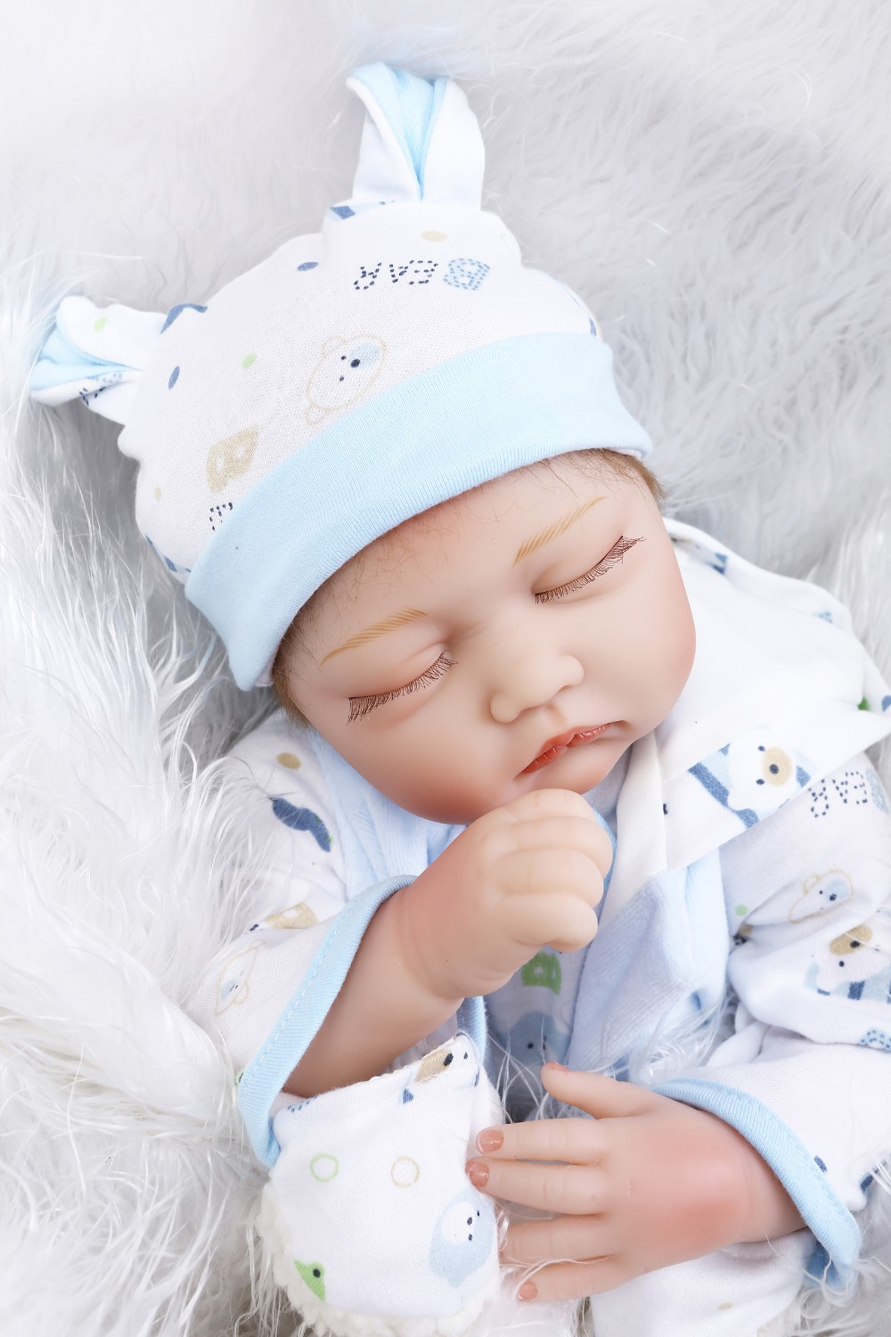doll alive reborn doll with soft real gentle touch22inch sleeping baby doll lifelike silicone vinyl Christmas Gift sweet baby new fashion design reborn toddler doll rooted hair soft silicone vinyl real gentle touch 28inches fashion gift for birthday