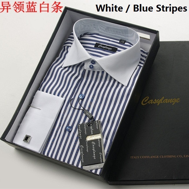 Dropshipping camisa masculina Impresión de La Manga Larga Ocasional de Los Hombres Camisa Casual Slim Fit Camisas de Los Hombres camisa masculina sociales