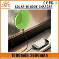 High-eficiência micro usb carregador de carro o mais fino banco de bateria solar 1800 mah