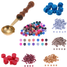 Sealing-Wax Oil-Paints for Wedding-Invitation Envelope DIY Crafts Waxs Beads 100pcs Tablet