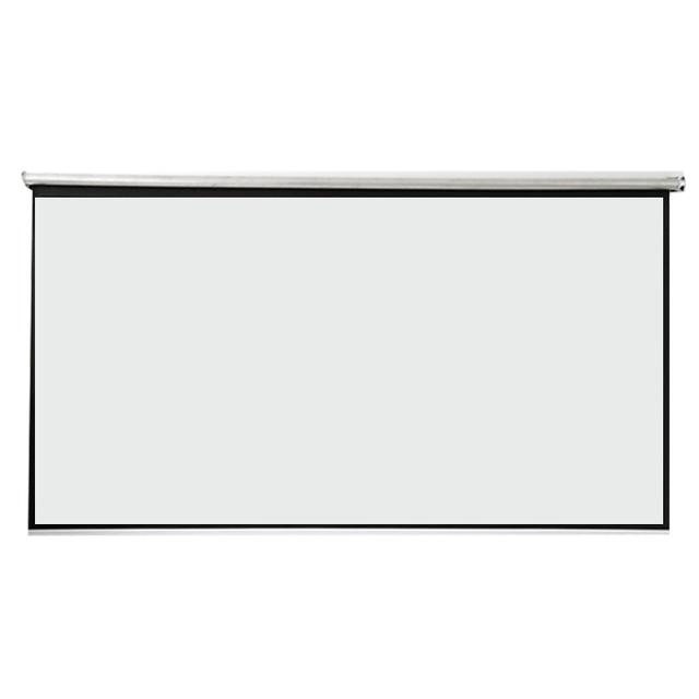 Thinyou 100 polegadas 16:9 Tela de Projeção Tecido Branco Andar De Pé Tela de Chão Portátil Puxar Para Cima Da Tela Do Projetor