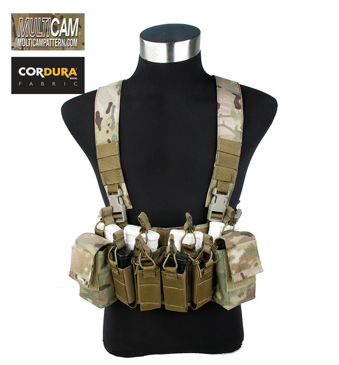D3 CRX Chest Rig Multicam Tactical Combat Light Low Profile Gear+Free shipping(STG050966) аксессуар carax tpms crx 1003