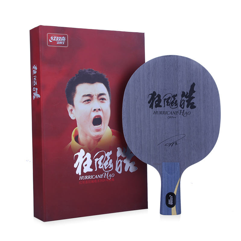 Original DHS Hurricane HAO (Wang Hao 1, fast attack) Table Tennis Blade Racket Ping Pong Bat Paddle поло quiksilver футболка поло stripe polo msp page 4