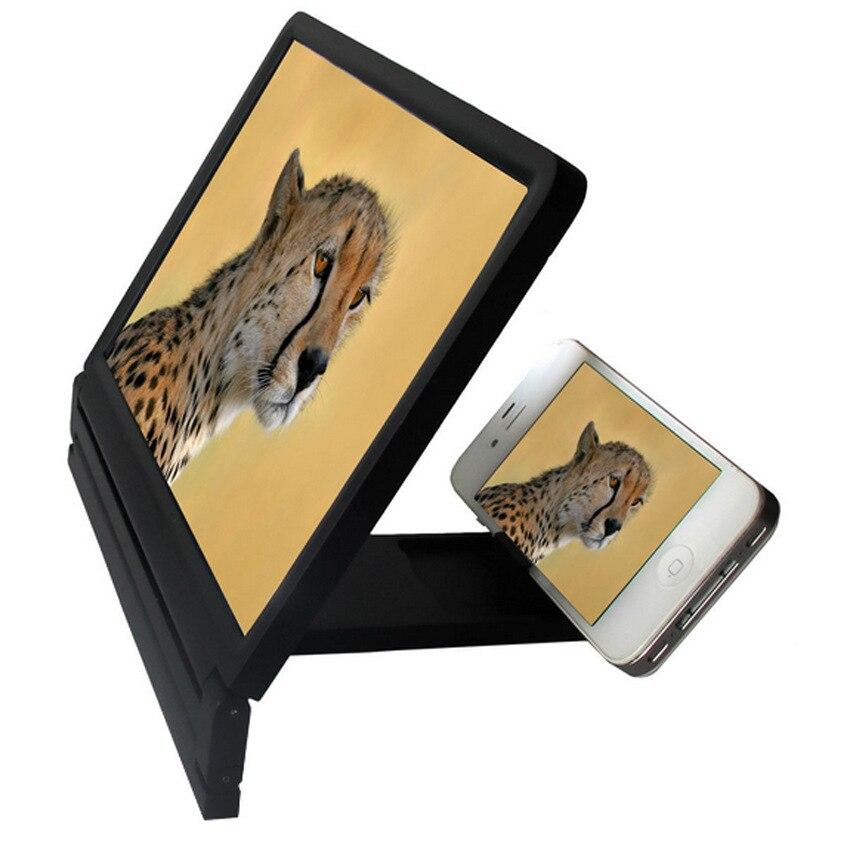 Faltbare Bewegliche Handy Bildschirmlupe HD Expander Ständer Halter Für SmartPhone