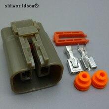 Shhworld Sea 6,3 мм Женский 2 Pin H20 генератор авто провода тяжелый ток разъем MG-MG7 охладитель воздуха разъем 7223-6224-40