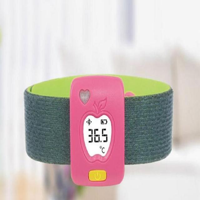Termómetro inteligente Bluetooth Inteligente Termómetro para el Bebé Niño Cuidado de La Salud Monitores