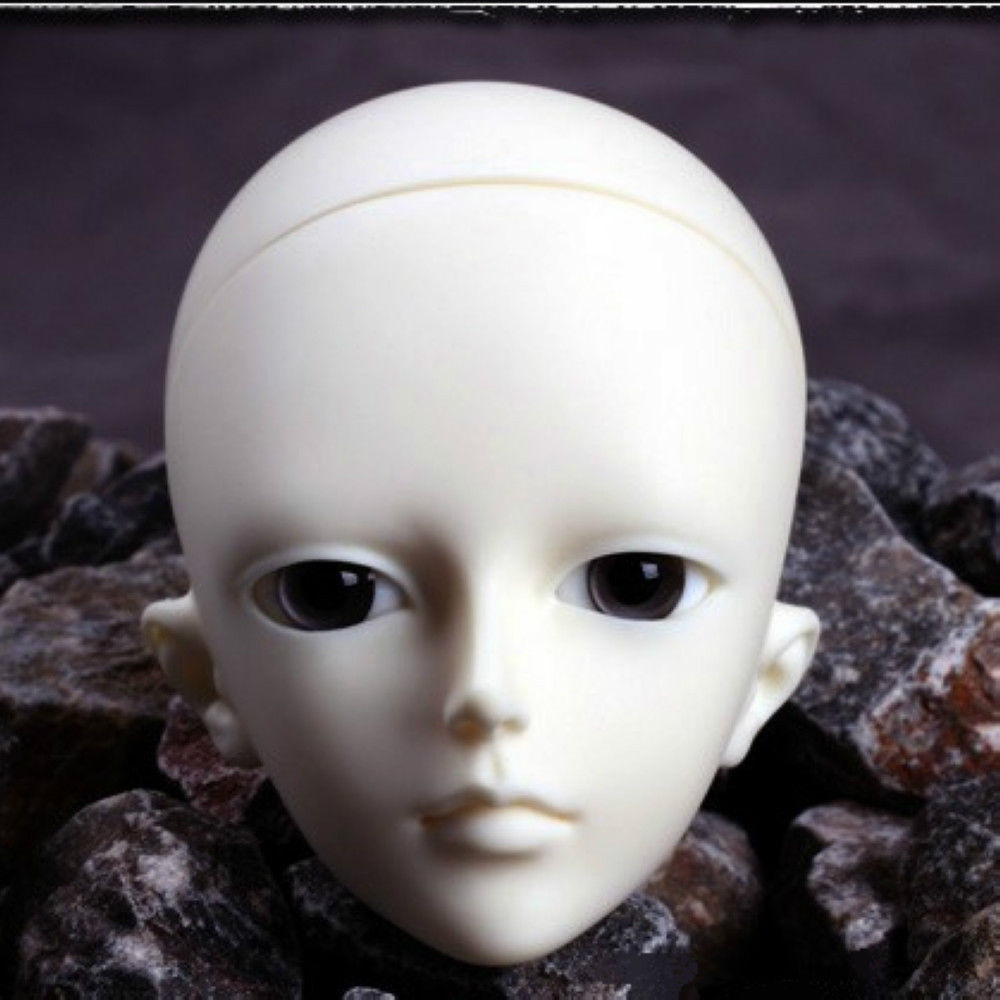 [wamami] AOD 1/4 BJD Dollfie Girl Doll Parts Single Head (Not Include Make-up)~Qing