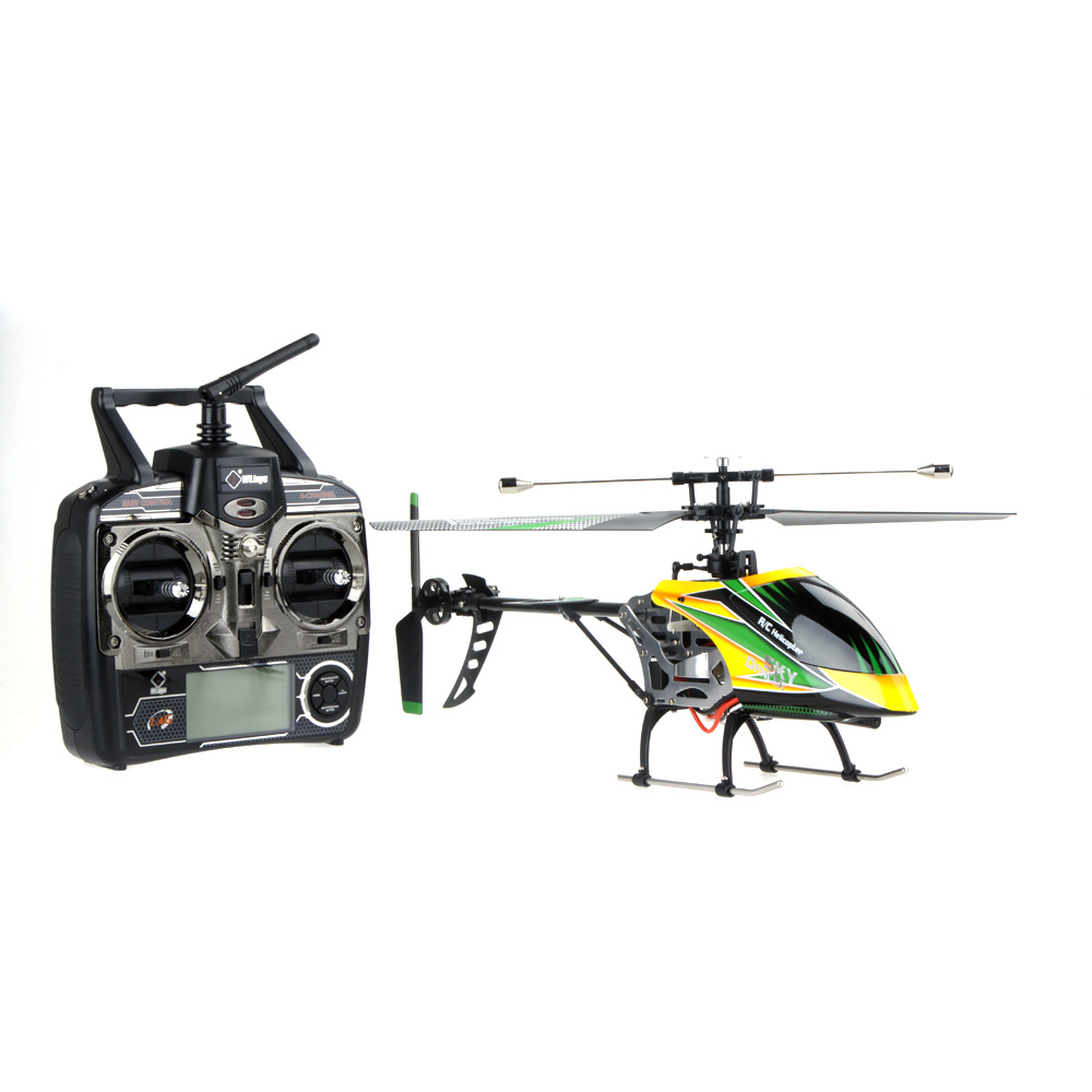 Brand New Wltoys V912 Large helicoptero 2.4G 4CH Single Blade RC Helicopter Toy with Mode 2 Transmitter цена