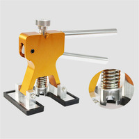 Auto Metal Plate Paintless Dent Repair Tool Dent Puller Auto Hail Cavity Repair Tool 24PCs Of