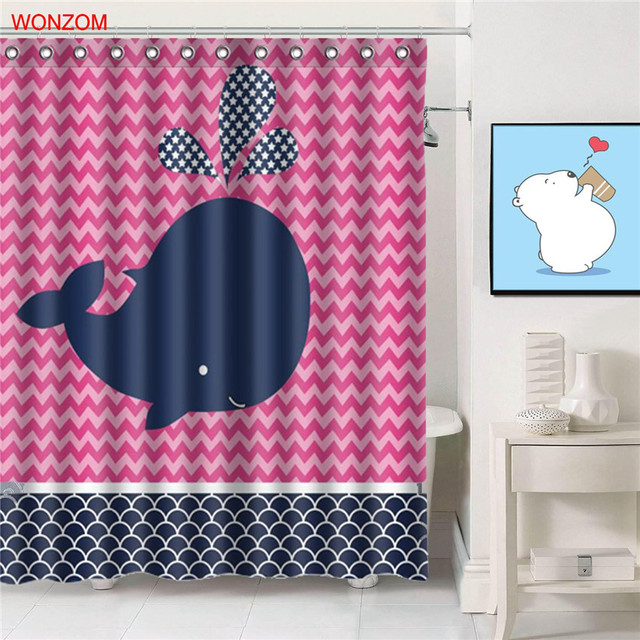 Kids Whale Bathroom Decor Magnificent Inspiration