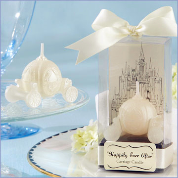 New Arrival Factory Directly Sale Wedding Favor Candle Favors-new Carriage Candle Wholesale Gift Promotional Gift Candle Holder